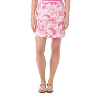 Southern Tide Floral A-line Skirt in Island Floral